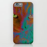 iPhone & iPod Case featuring Kitty Cat by Cat Kitsch