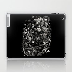 Spark-Eyed Oblivion Cascade Blues Laptop & iPad Skin