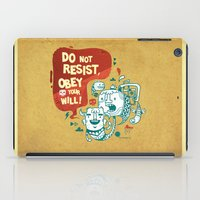 Obey Your Will iPad Case