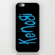 Follow the Jedi iPhone & iPod Skin