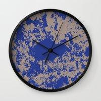mauer fleck Wall Clock