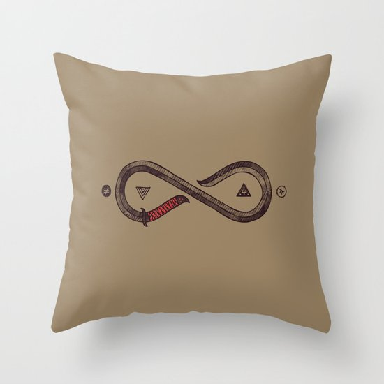 Infinity Blade Throw Pillow