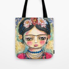 The Heart Of Frida Kahlo… Tote Bag