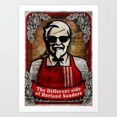 another side of kol. Sanders Art Print