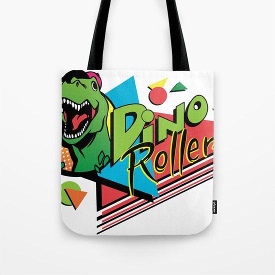 Dino Rollers Logo Tote Bag