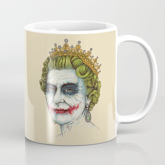 God Save the Villain! Mug