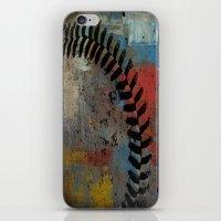 Painted Baseball iPhone & iPod Skin