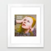 Bowie : Hunky Dory Pixel… Framed Art Print