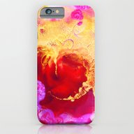 Abstract Painting Red Go… iPhone 6 Slim Case