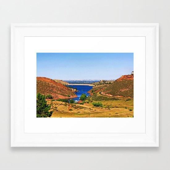 Fort Collins Framed Art Print