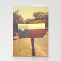 Deep in the heart of texas { You've got mail series 2012} Stationery Cards