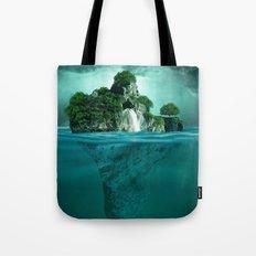 Green island 4 Tote Bag