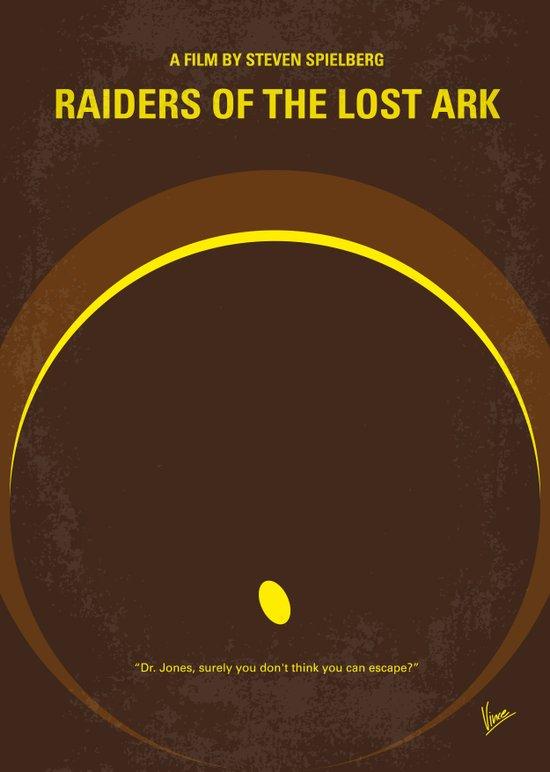 No068 My Raiders Lost A minimal movie poster Art Print