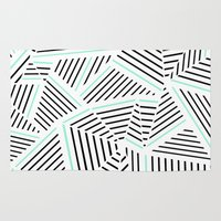 Ab Linear Zoom With Mint Rug