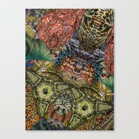 Psychedelic Botanical 1 Canvas Print