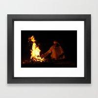 Arabian Fire Framed Art Print