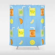 Juice Pattern  Shower Curtain