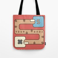 Save Your Work Tote Bag