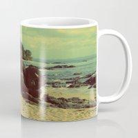 Puerto Rico Heart along the Beach Mug