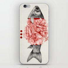 To Bloom Not Bleed III iPhone & iPod Skin