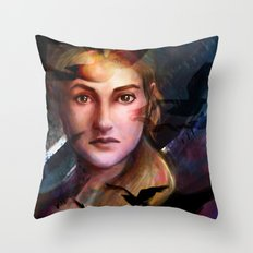 Fear Wakes You Up Throw Pillow