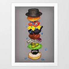 Heisenberger Art Print
