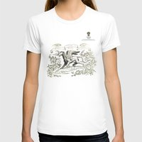 Ceballo Womens Fitted Tee White SMALL