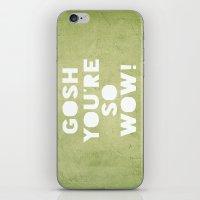 Gosh (WOW!) iPhone & iPod Skin