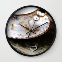 my little valentine Wall Clock