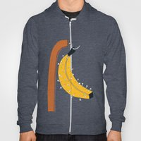 pin banana Hoody