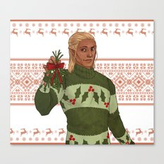Very Merry Zevran CUSTOM BG REQUEST Canvas Print