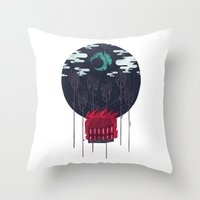The Most Beautiful Night… Throw Pillow