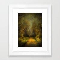 Unknown Footpath Framed Art Print