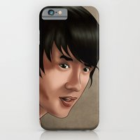 iPhone & iPod Case featuring Jackie Chan by jasonarts