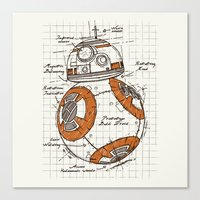 BB-8 Canvas Print