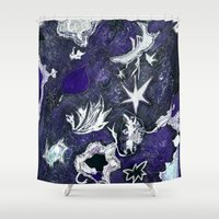 Snow Flurry Shower Curtain