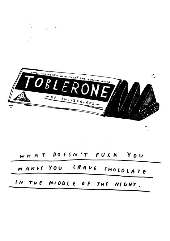 CHOCOLATE DREAMING Art Print