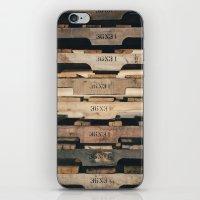 SHADES OF WOOD  iPhone & iPod Skin