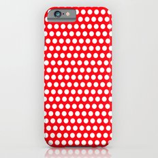 Red Points iPhone 6s Slim Case