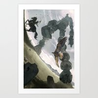 Shadow Art Print