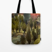 The hill. Tote Bag