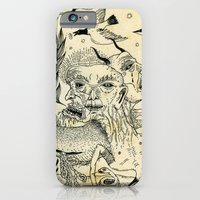 iPhone & iPod Case featuring Grotesque Flora and Fauna by Jon MacNair