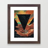 Disruption Of His World… Framed Art Print