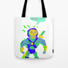 Masters of the universe of love 2 Tote Bag