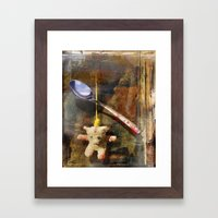 The Care and Feeding of Teddy Framed Art Print