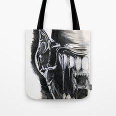 Alien Face. Tote Bag