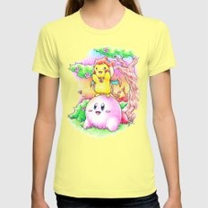 If this is Dream Land.. Womens Fitted Tee Lemon SMALL