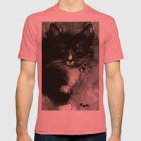 TUXEDO Mens Fitted Tee Pomegranate SMALL