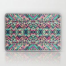 Pink Turquoise Girly Azt… Laptop & iPad Skin