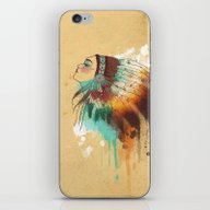 Native American Girl iPhone & iPod Skin